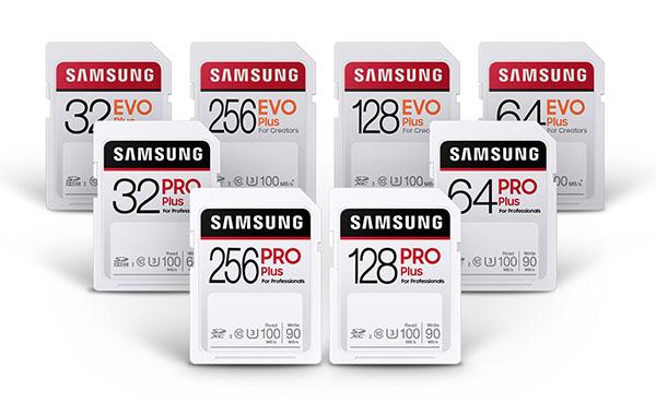 Samsung lance les cartes microSD Pro Plus et EVO Plus