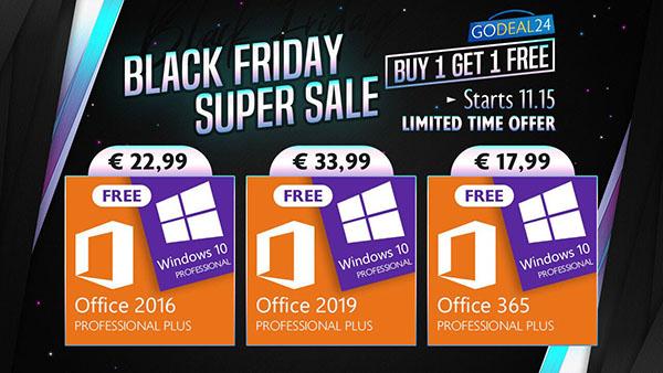 Bon Plan : Achetez Microsoft Office et obtenez Windows 10 gratuitement