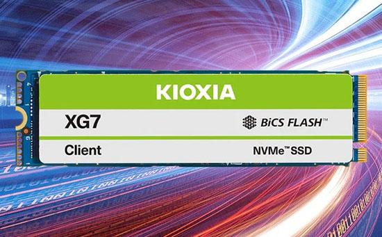 Kioxia annonce le XG7 : un SSD M.2. NVMe en PCI Express 4.0 4x