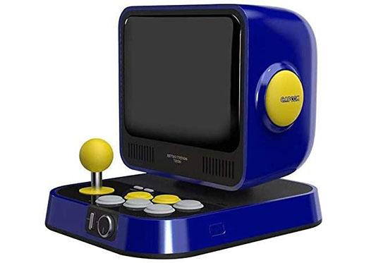 Capcom présente le Retro Station Tron : une mini borne d'arcade pour les fans de Street Fighter et  Megaman