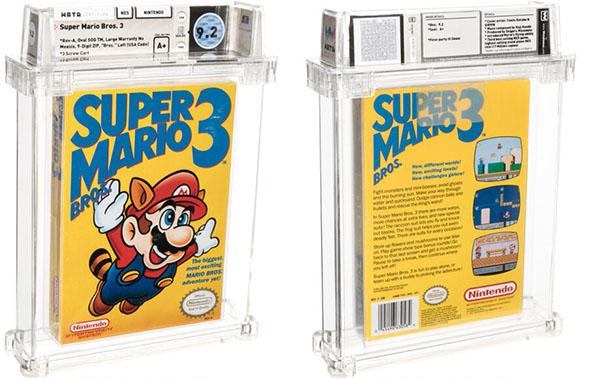 Retrogaming : le jeu Super Mario Bros 3 atteint un prix de 156.000 dollars lors d'une vente aux enchères