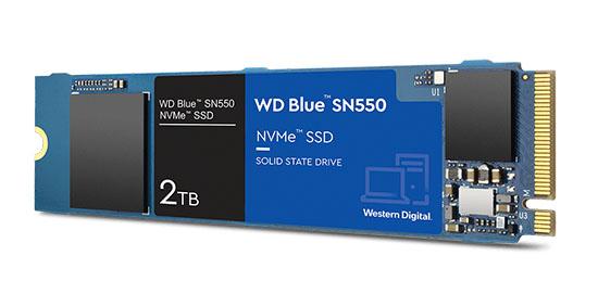 Le SSD WD Blue SN550 est disponible maintenant avec 2 To de stockage
