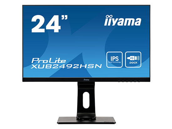 IIyama dévoile un nouveau moniteur 24″ Full HD : le ProLite XUB2492HSN-B1