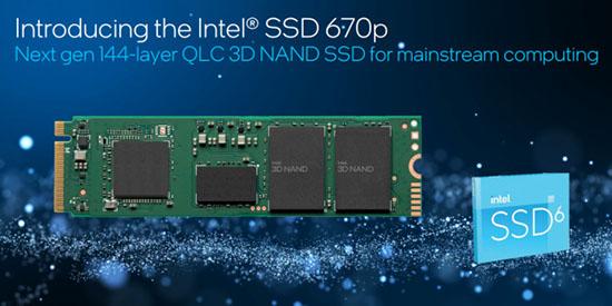 Intel 670p : une nouvelle gamme de SSD M.2. NVMe grand public