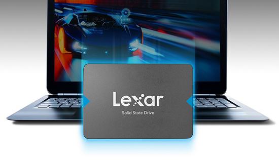 Lexar annonce le NQ100 : un SSD de 2,5 pouces d'entrée de gamme