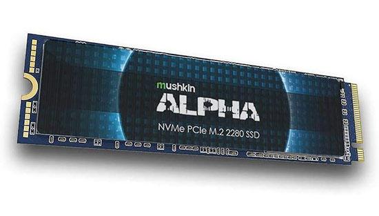 Mushkin Alpha : un SSD M.2. NVMe dispo en version 4 et 8 To