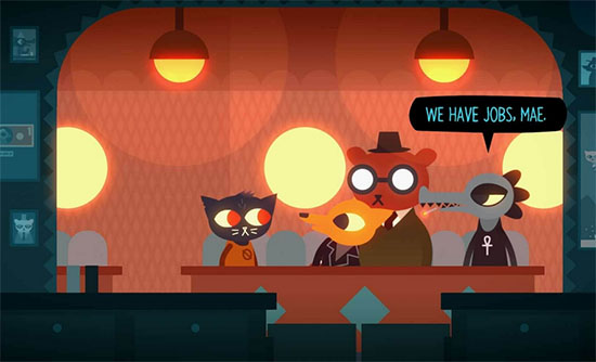 Epic Games offre aujourd'hui le jeu Night in the Woods