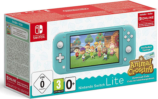 Bon Plan : le pack Nintendo Switch Lite Animal Crossing à 199€ sur Amazon.fr