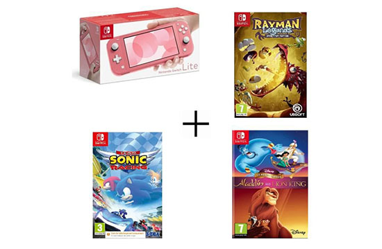 Black Friday : des packs Nintendo Switch Lite + 3 jeux à 249€ sur CDiscount