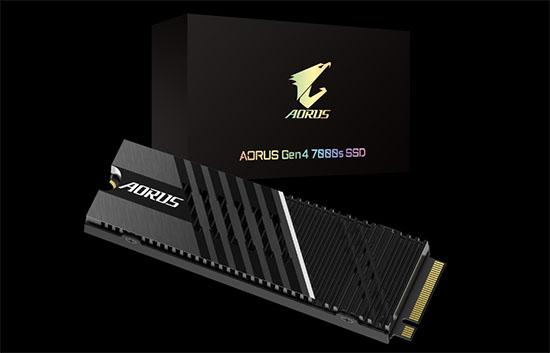 Gigabyte dégaine un SSD M.2. très performant : le AORUS Gen4 7000S