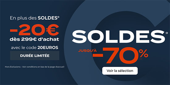 Soldes : CDiscount vous offre 20€ de réduction