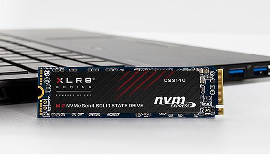Un nouveau SSD M.2. NVMe est annoncé chez PNY : le XLR8 CS3140