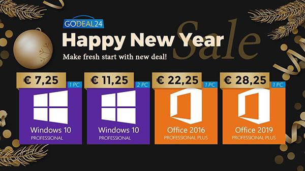 Promo de la semaine : Windows 10 Pro à seulement 7,25€ et MS Office dès 22€