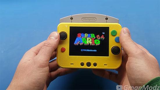 Retrogaming : il fabrique une vraie Nintendo 64 portable