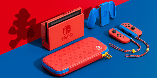 Nintendo présente une édition Mario de la Nintendo Switch