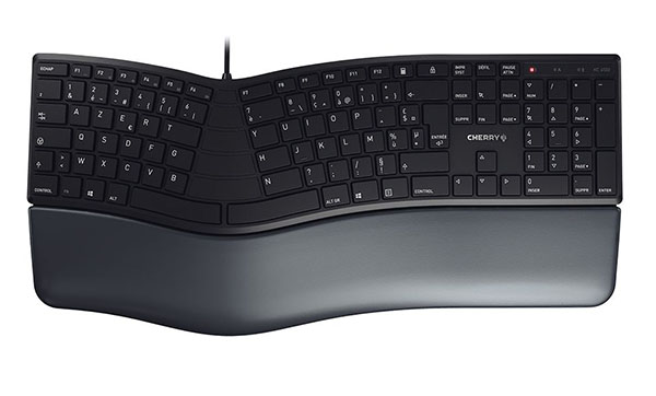 Cherry présente un clavier ergonomique : le KC 4500 ERGO