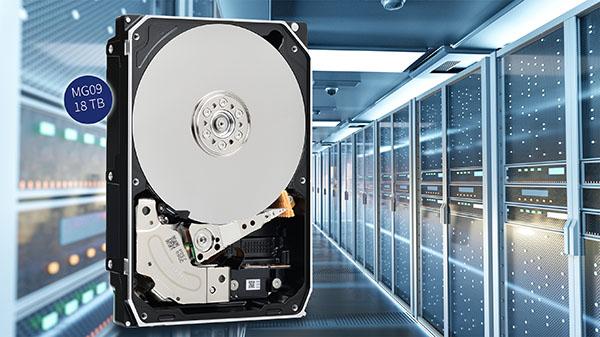 Toshiba dégaine un disque dur de 18 To, le MG09