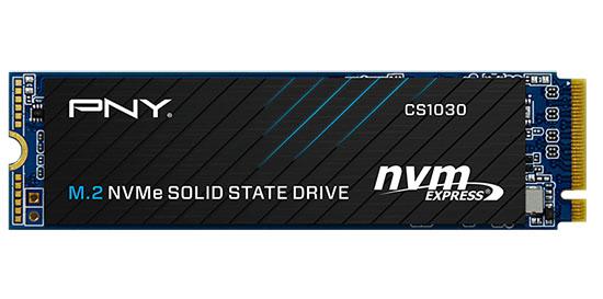 PNY annonce un SSD M.2. NVMe d'entrée de gamme : le CS1030