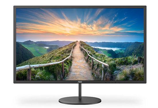 AOC annonce la gamme d'écrans V4 composée de modèles QHD et Ultra HD