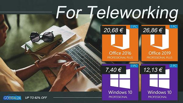 Promo spéciale télétravail, restez productif : Office 2019 dispo à seulement 26,86€ sur Godeal24