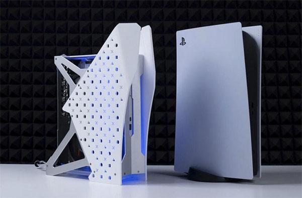 Une Playstation 5 bidouillée et refroidie au watercooling