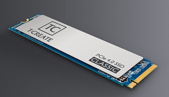 Team Group annonce le T-Create Classic : un SSD M.2. NVMe en PCI Express 4.0