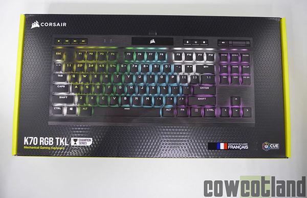 Cowcotland teste le clavier Corsair K70 RGB, que vaut-il ?