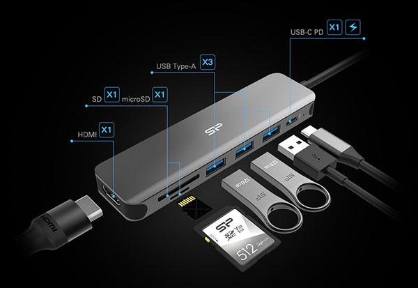 Un accessoire pour ajouter une connectique plus fournie à votre PC portable