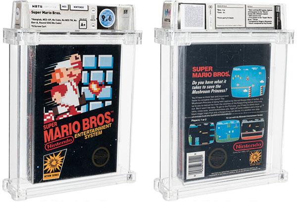 Super Mario Bros devient le jeu vidéo le plus cher de l'histoire