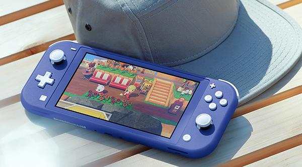 Nintendo dévoile un coloris bleu pour la Switch Lite
