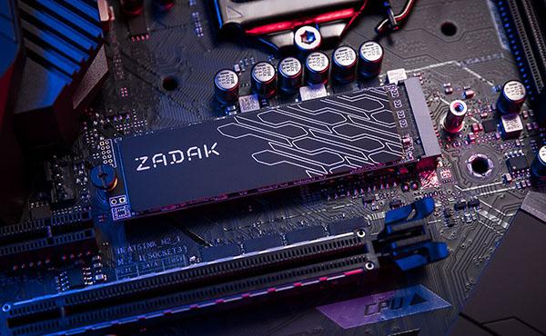 Le constructeur Zadak lance un SSD M.2. NVMe : le TWSG3